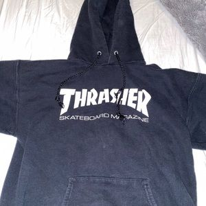 Thrasher black hoodie